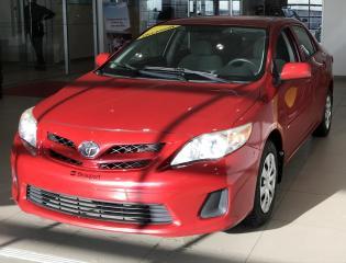 Used 2011 Toyota Corolla CE 3e niveau LE plus équipé, jamais acci for sale in Beauport, QC