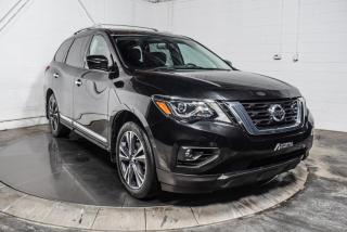Used 2017 Nissan Pathfinder PLATINUM AWD CUIR TOIT PANO NAV TV/DVD for sale in St-Hyacinthe, QC