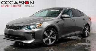 Used 2017 Kia Optima SX TURBO NAVI+CUIR+SIEGES.CHAUFFANTS for sale in Boisbriand, QC