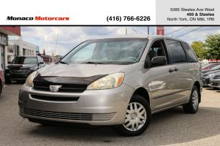 Used 2005 Toyota Sienna CE 7-Passenger for sale in North York, ON