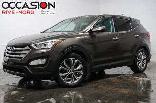 Used 2013 Hyundai Santa Fe 2.0T Limited AWD NAVI+CUIR+TOIT.OUVRANT for sale in Boisbriand, QC