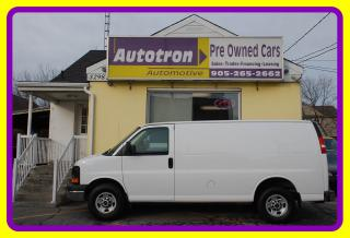 Used 2015 GMC Savana 2500 3/4 Ton Cargo Van , Loaded, Divider for sale in Woodbridge, ON