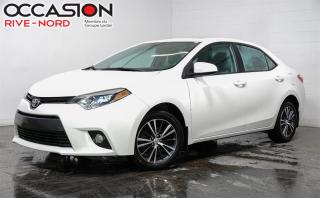 Used 2016 Toyota Corolla LE. TOIT.OUVRANT+SIÈGES.CHAUFFANTS+CAM.RECUL for sale in Boisbriand, QC