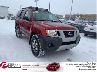 Used 2010 Nissan Xterra PRO-4X for sale in Rouyn-Noranda, QC