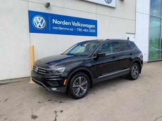 New 2019 Volkswagen Tiguan Highline for sale in Edmonton, AB