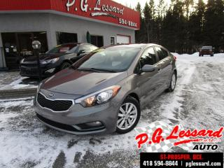 Used 2016 Kia Forte Lx+ toit ouvrant siege chauffant bluetooth for sale in St-Prosper, QC