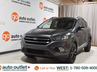 Used 2017 Ford Escape Titanium, 2.0L I4, 4wd, Navigation, Cloth/Leather heated seats, Sunroof/Moonroof, Backup camera, Bluetooth for sale in Edmonton, AB