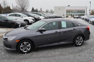 Used 2016 Honda Civic LX ***Jamais accidenté*** for sale in Longueuil, QC
