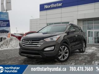 Used 2013 Hyundai Santa Fe LIMITED/NAV/PANOROOF/COOLEDSEATS/LEATHER for sale in Edmonton, AB