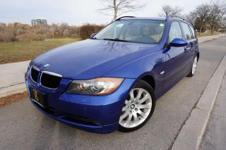 Used 2007 BMW 3 Series 328XI TOURING / SPORT PACKAGE / STUNNING COLOUR for sale in Etobicoke, ON