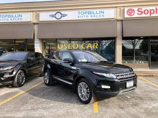 Used 2012 Land Rover Range Rover Evoque Prestige Premium for sale in Vaughan, ON