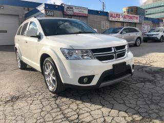 Used 2011 Dodge Journey SXT_ACCIDENT FREE_ONE OWNER for sale in Oakville, ON