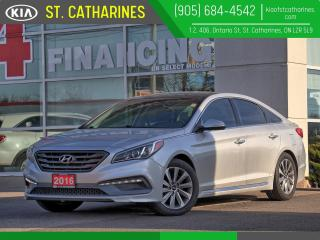 Used 2016 Hyundai Sonata Sport Tech |Panoramic Roof|Navi|Blindspot Alert for sale in St Catharines, ON