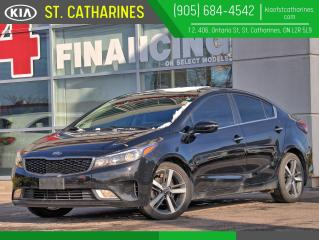Used 2017 Kia Forte EX+ | Sunroof | Climate Control | Android Auto for sale in St Catharines, ON