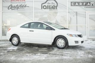 Used 2011 Honda Civic DX-G COUPE ***GARANTIE 10 ANS/200 000 KM for sale in Québec, QC