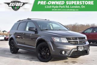 Used 2016 Dodge Journey SXT/Limited - One Owner, Roof Rack,  Heated Seats for sale in London, ON