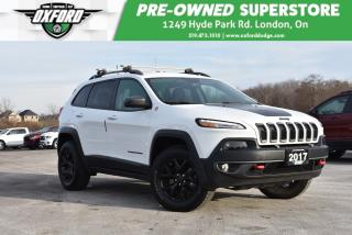Used 2017 Jeep Cherokee Trailhawk - One Owner, Super Low Kms, Well Equippe for sale in London, ON
