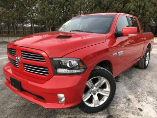 Used 2017 RAM 1500 SPORT CREW CAB 4X4 for sale in Cayuga, ON