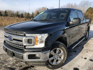 Used 2019 Ford F-150 XLT XTR CREW CAB 4X4 for sale in Cayuga, ON