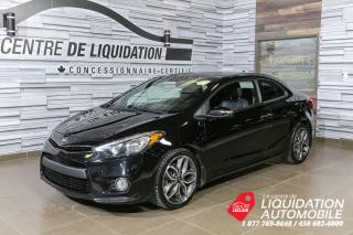 Used 2015 Kia Forte Koup Sx+toit+cuir+mags for sale in Laval, QC