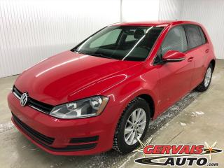Used 2015 Volkswagen Golf TSI TRENDLINE MAGS BLUETOOTH SIÈGES CHAUFFANTS for sale in Shawinigan, QC