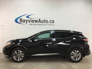 Used 2017 Nissan Murano SL - AWD! PANOROOF! HTD LEATHER! NAV! NISSAN DIRECT! for sale in Belleville, ON
