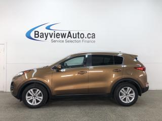 Used 2017 Kia Sportage LX - AWD! ALLOYS! REVERSE CAM! + MUCH MORE! for sale in Belleville, ON
