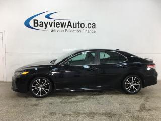 Used 2019 Toyota Camry HYBRID SE - HTD LTHR TRIM! MOONROOF! ALLOYS! + MORE! for sale in Belleville, ON