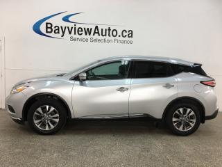 Used 2016 Nissan Murano SL - AWD! NAV! PANOROOF! + MORE! for sale in Belleville, ON