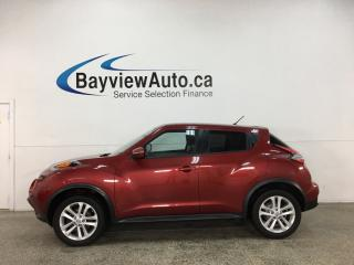 Used 2016 Nissan Juke SV - AWD! AUTO! OFF 1 OWNER LEASE! for sale in Belleville, ON