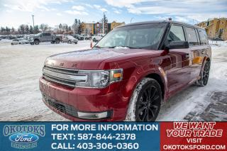 Used 2019 Ford Flex SEL AWD, APPEARANCE PACKAGE, BLACK VISTA ROOF, SYNC 3, REMOTE START for sale in Okotoks, AB
