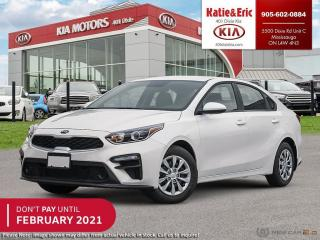 New 2020 Kia Forte LX DON'T PAY TO FEBRUARY 2021 for sale in Mississauga, ON