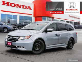 Used 2016 Honda Odyssey Touring EIGHT PASSENGER SEATING | REAR ENTERTAINMENT SYSTEM | GPS NAVIGATION for sale in Cambridge, ON