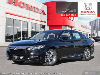 New 2020 Honda Accord EX-L 1.5T LANEWATCH™ CAMERA | POWER MOONROOF | HONDA SENSING TECHNOLOGIES for sale in Cambridge, ON