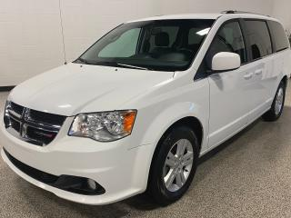 Used 2018 Dodge Grand Caravan Crew heated leather, navigation, power lift gate, and lots more... for sale in Calgary, AB
