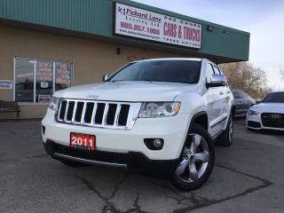 Used 2011 Jeep Grand Cherokee Overland for sale in Bolton, ON