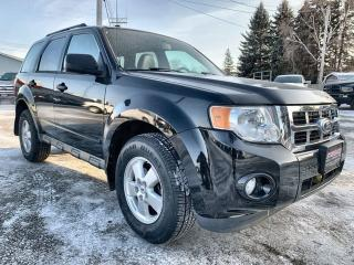 Used 2011 Ford Escape XLT Sunroof, Heated Leather Seats, Bluetooth, CD for sale in Steinbach, MB