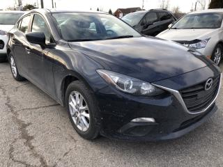 Used 2016 Mazda MAZDA3 GS Heated Seats, BackupCam, Bluetooth and Alloys with Pwr Windows, Cruise, Air, Keyless Entry and more! for sale in Kemptville, ON