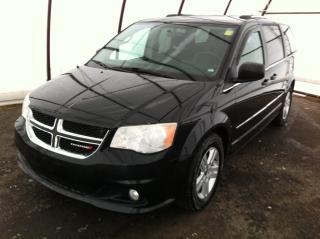 Used 2013 Dodge Grand Caravan Crew REAR CLIMATE CONTROLS, 6.5 TOUCHSCREEN, REVERSE CAMERA for sale in Ottawa, ON