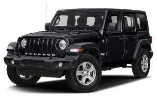 New 2020 Jeep Wrangler Unlimited Sport UNLIMITED SPORT 'S' 4X4 for sale in Ottawa, ON