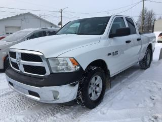 Used 2016 RAM 1500 ST groupe option sxt for sale in Dolbeau-Mistassini, QC