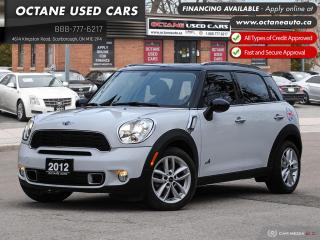 Used 2012 MINI Cooper Countryman S Accident Free! AWD! Leather! Certified! for sale in Scarborough, ON