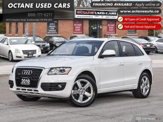 Used 2010 Audi Q5 3.2 Premium * Navigation ~ Back Up Cam ~ Certified! * for sale in Scarborough, ON