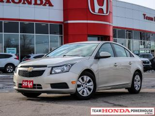 Used 2014 Chevrolet Cruze 1LT   Cruise   Air Conditioning   1.4L Engine   Heated Mirrors for sale in Milton, ON