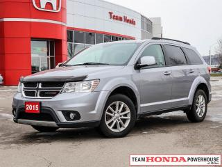 Used 2015 Dodge Journey SXT | MoonRoof | 7 Pass. | Backup Cam. | DVD RES Sys. for sale in Milton, ON