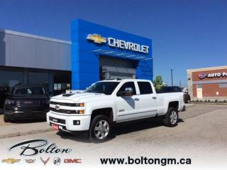 Used 2018 Chevrolet Silverado 2500 HD LTZ - 6.6L Diesel Engine  - One owner - Accident FREE - for sale in Bolton, ON