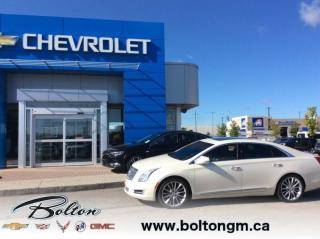 Used 2013 Cadillac XTS AWD Sedan - All Wheel Drive - Top of the line Platinum Package - for sale in Bolton, ON
