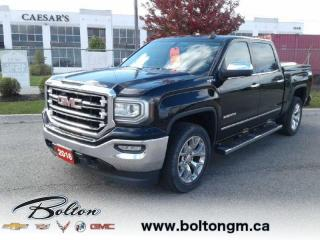 Used 2016 GMC Sierra 1500 SLT - One owner - Accident FREE - Crew Cab 4 Wheel Drive - 5.3L V8 Engine - Navigation System - for sale in Bolton, ON