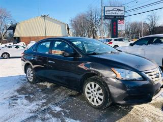 Used 2015 Nissan Sentra 1.8L-Econo-Groupe Electrique-Propre for sale in Laval, QC