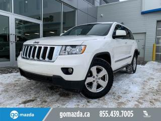 Used 2012 Jeep Grand Cherokee LAREDO V8 4X4 LEATHER SUNROOF NAV GREAT CONDITION for sale in Edmonton, AB